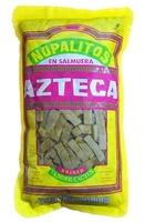 Nopales en tiras en salmuera( al natural ) 1kg Azteca (bolsa)
