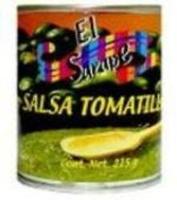 Salsa de tomatillo triturado 215g El Sarape