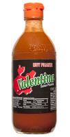 Salsa valentina ( etiqueta negra ) ( muy picante )