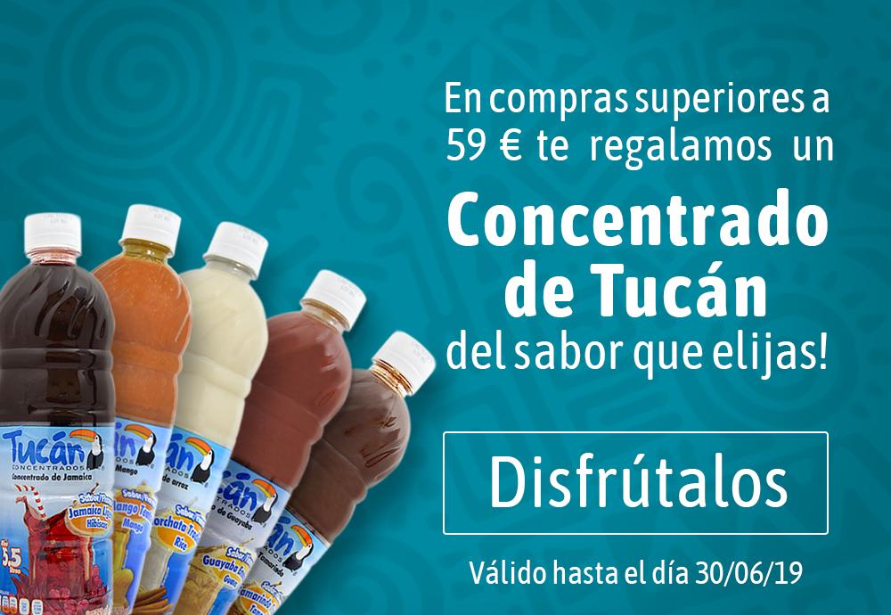 Oferta concentrados de fruta Tucán