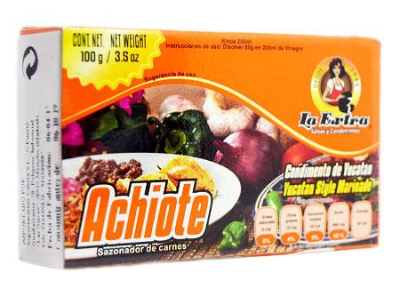 Achiote La Extra 100g paquete