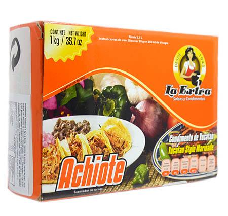 Achiote La Extra 1 kg paquete