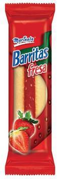 Barritas Rellenas Marinela 402gr caja Fresa