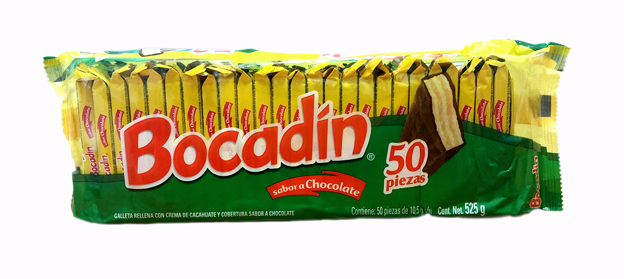 Bocadín (galleta chocolate) 500gr Bolsa Plástico