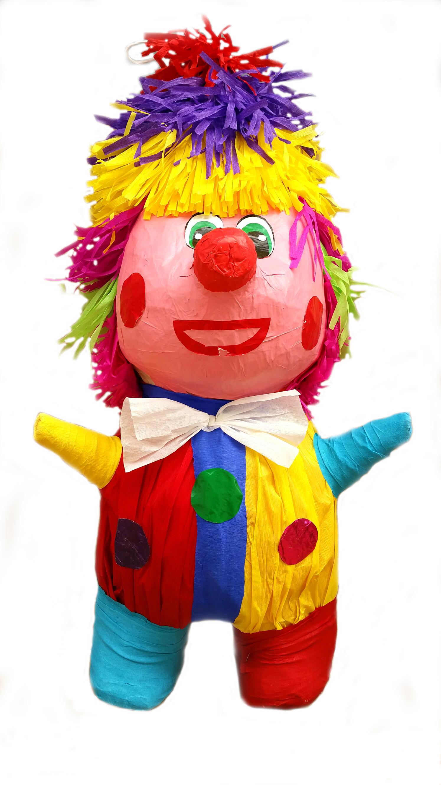 Piñatas Payaso 93x32x78