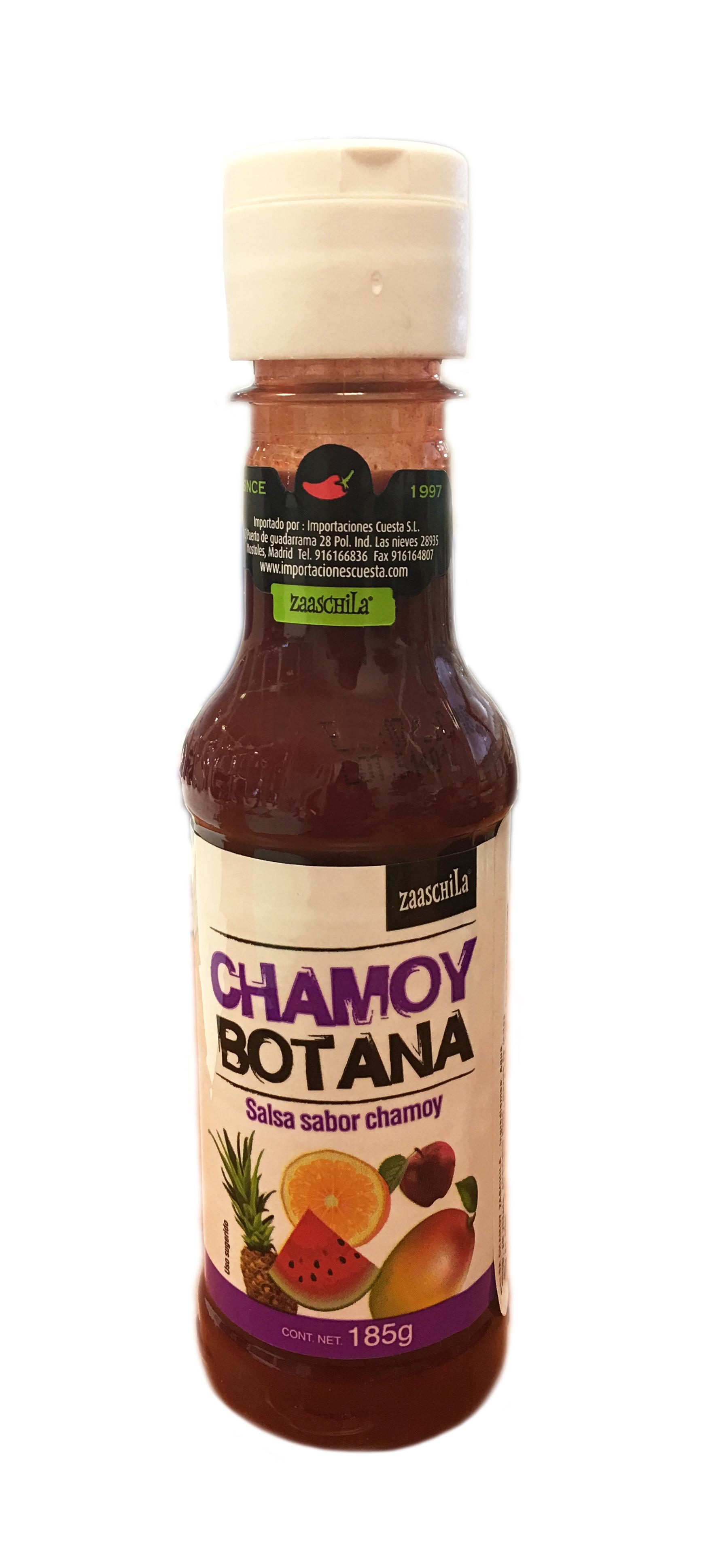 Salsa Chamoy Zaaschila 180g botella de plastico