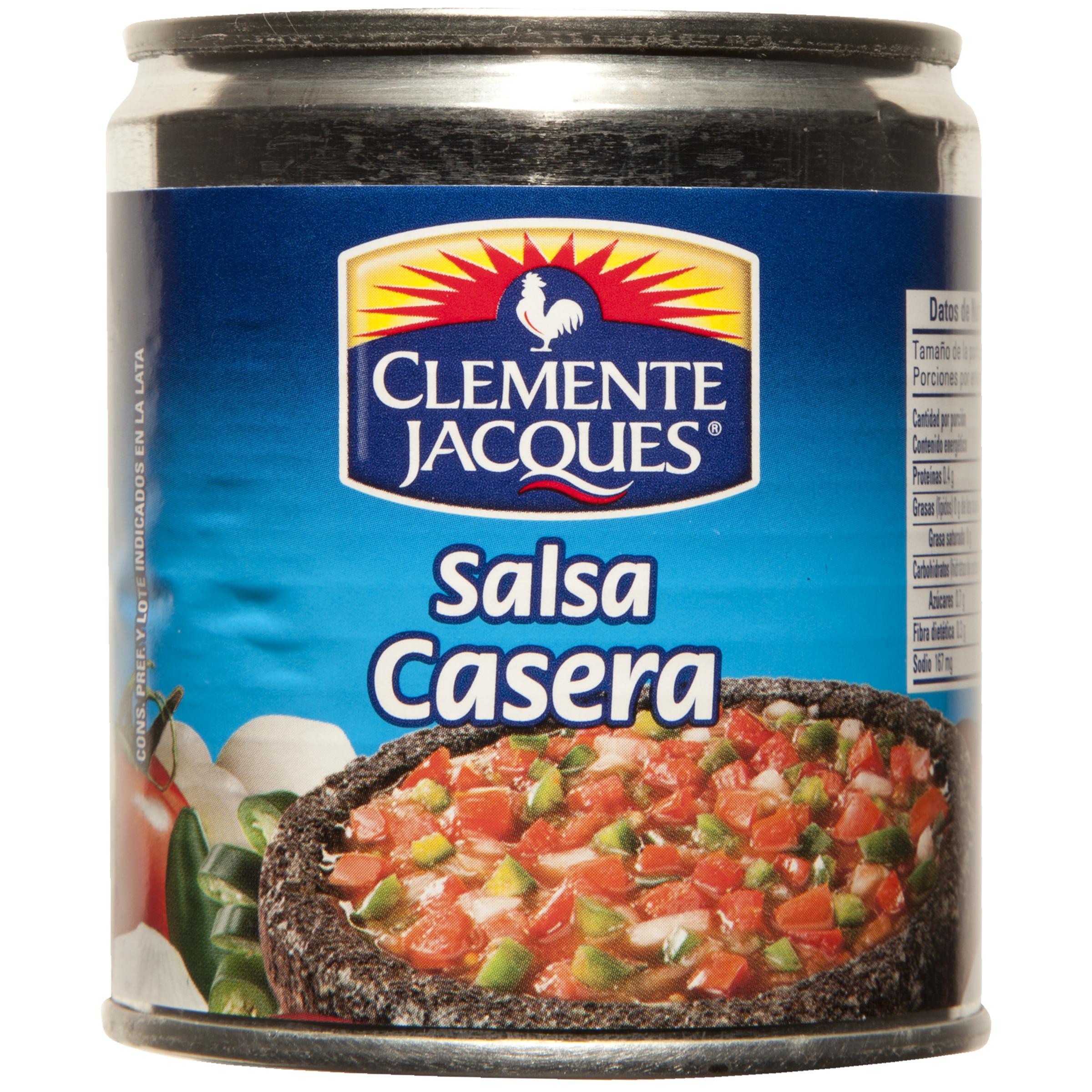 Salsa mexicana casera roja 220ml Clemente Jacques 210g Lata