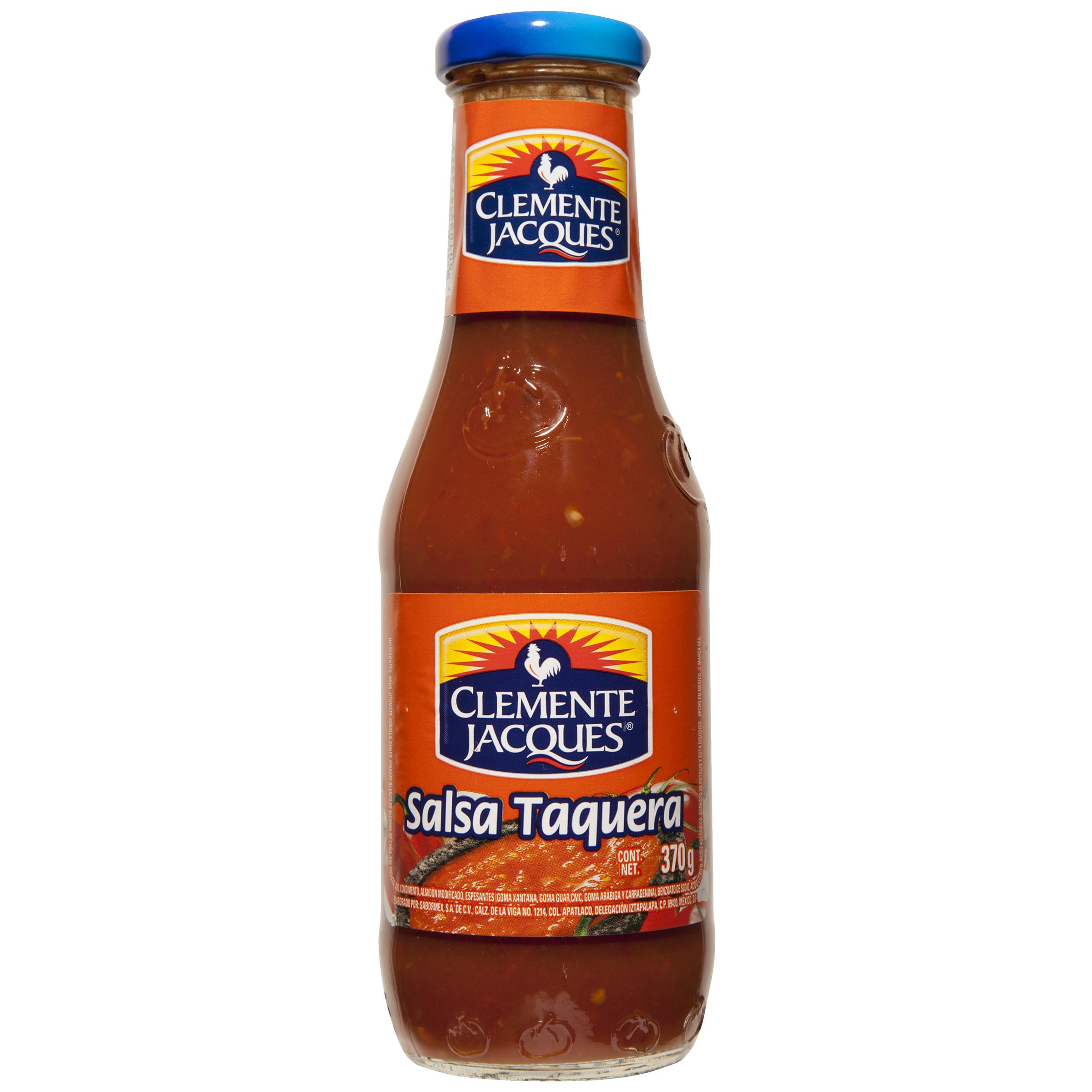 Salsa taquera 370ml clemente jacques 370ml Botella Cristal