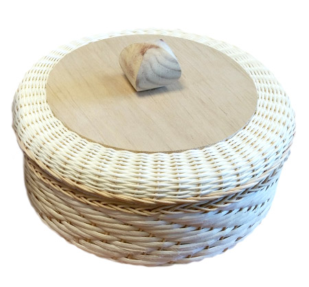 Tortilleros Unicel 5cm(aprox) 20cm (MEDIANO)