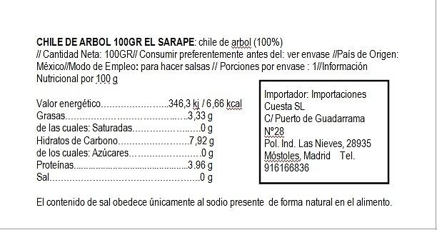 Arbol seco El Sarape
