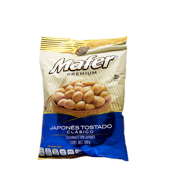 Cacahuates japoneses clásicos, Mafer