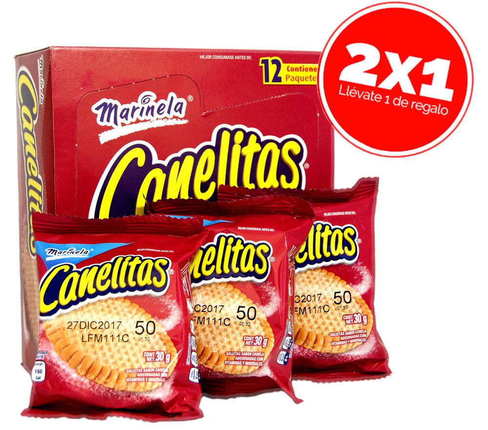 Canelitas (Galleta canela)