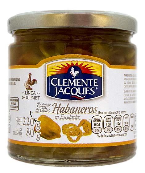 Chile Habanero en Rodajas, Clemente Jacques