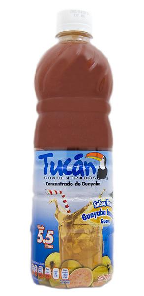 Concentrado de agua de guayaba marca Tucán
