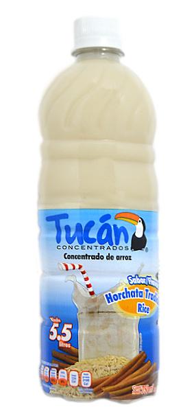 Concentrado de agua de horchata de arroz marca Tucán