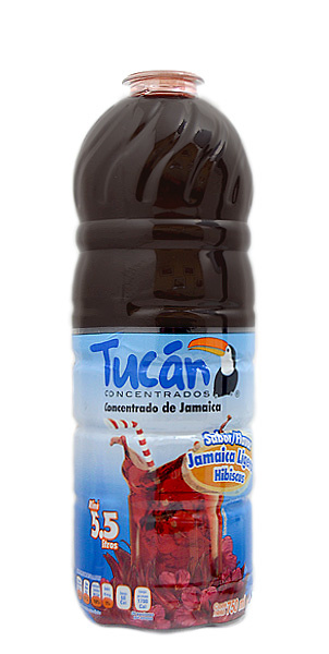 Concentrado de agua de jamaica Tucan