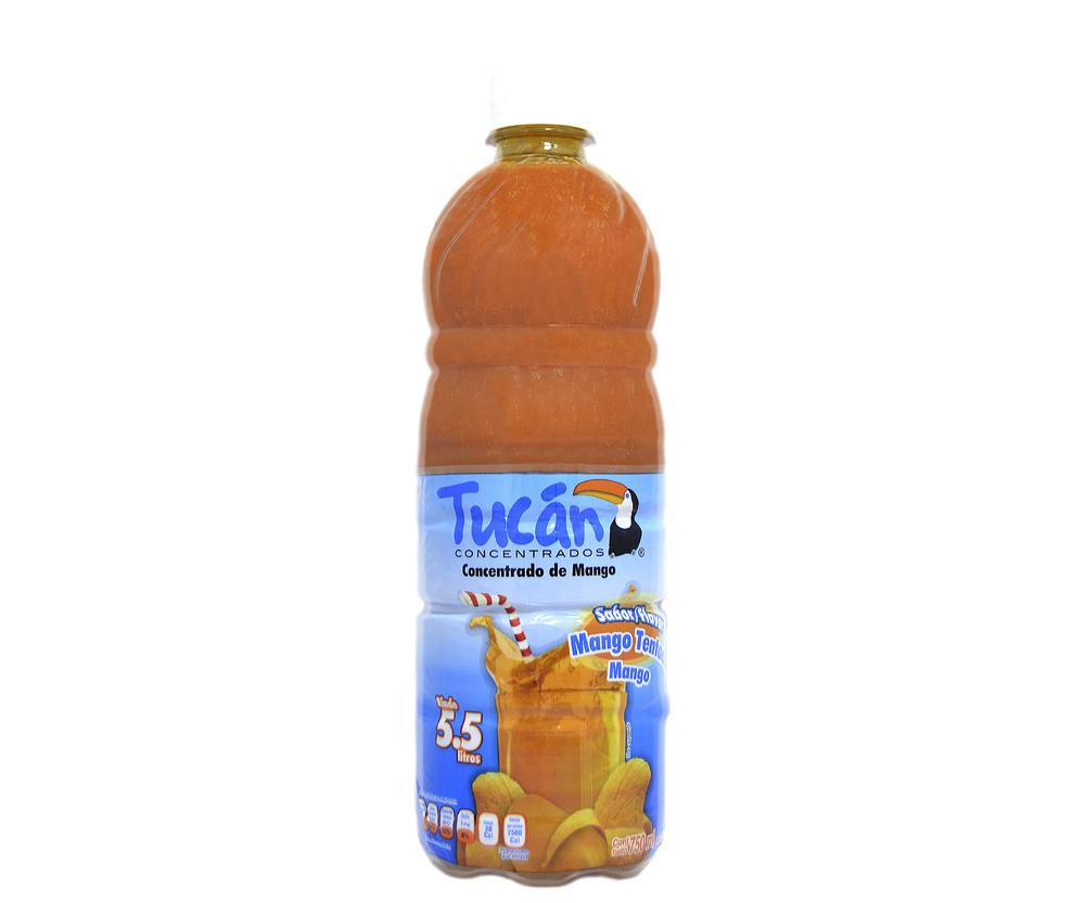 Concentrado de agua de mango Tucán