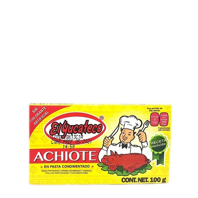 Condimento de Achiote 100gr Yucateco