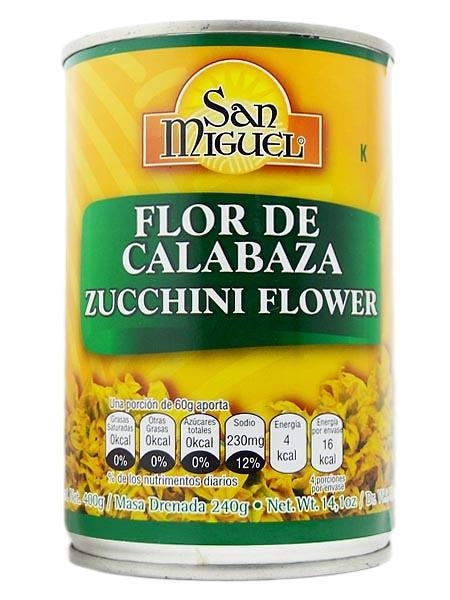 Flor de calabaza 420g San Miguel