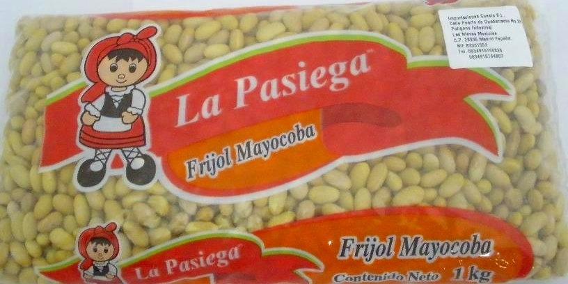 Frijol Mayocoba Crudo 1kg La Pasiega