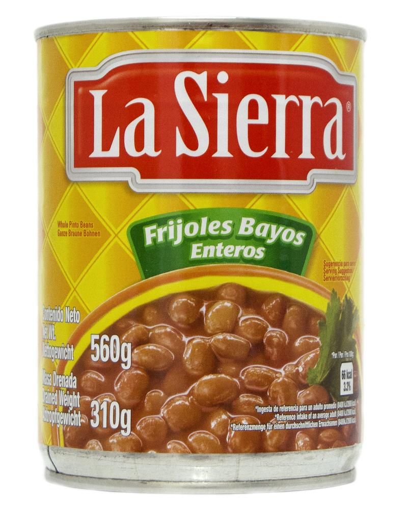 Frijol bayo entero, La Sierra