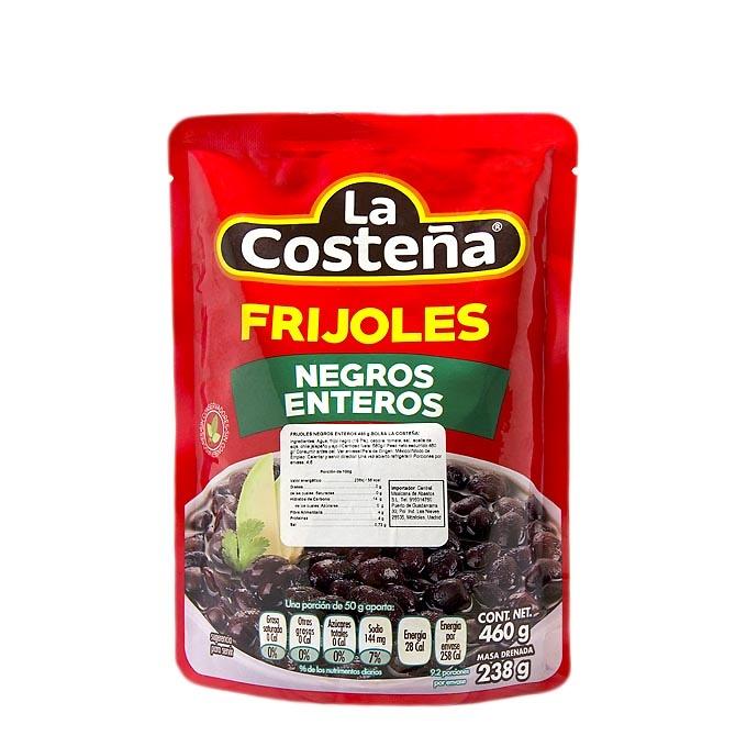 Frijoles negros enteros (bolsa)