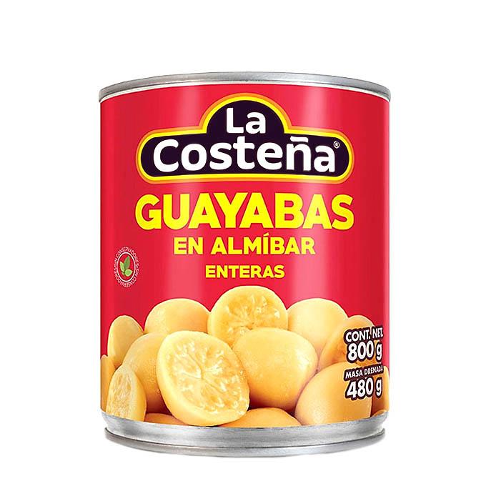 Guayaba en Almíbar 800g