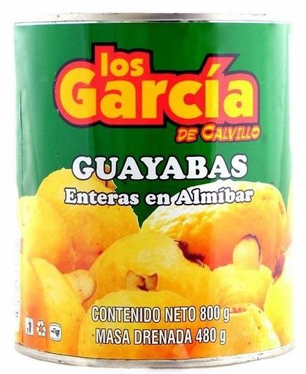 Guayaba en almibar Los García