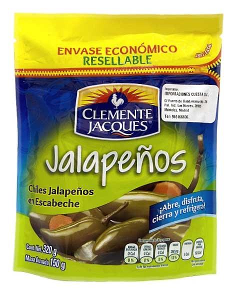 Jalapeños enteros, Clemente Jacques