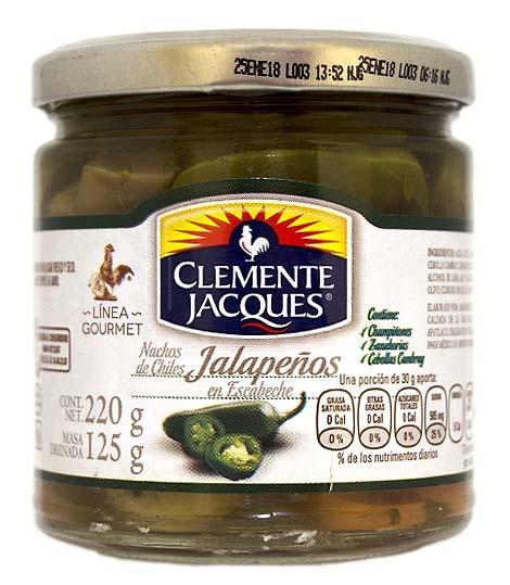 Jalapeños nachos Gourmet Clemente Jacques