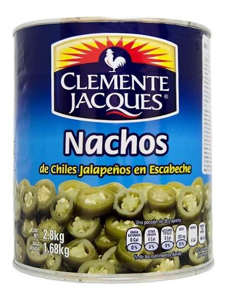 Jalapeños para nachos (en rodajas) Clemente Jacques