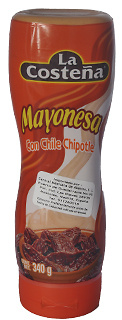 Mayonesa con Chile Chipotle squeeze.