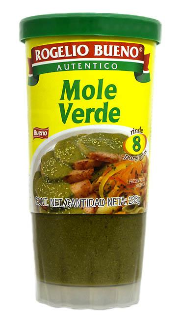 Mole verde en pasta Rogelio Bueno