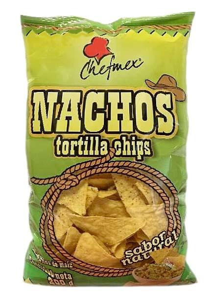 Nachos (Tortillas Chips) con SABOR NATURAL CHEF MEX