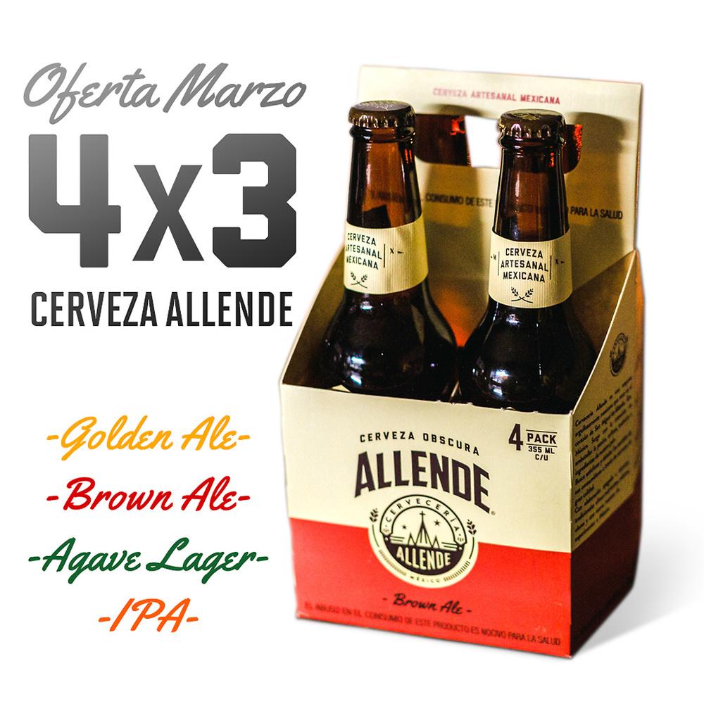 Pack 4x3 Allende