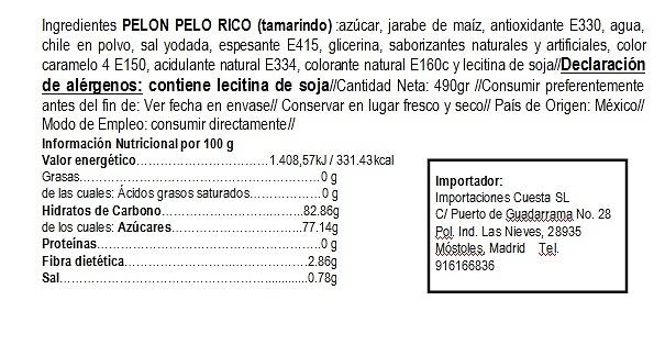 Pelón Pelo Rico 12 uds +2 uds Hot-Intenso de regalo. Edición limitada