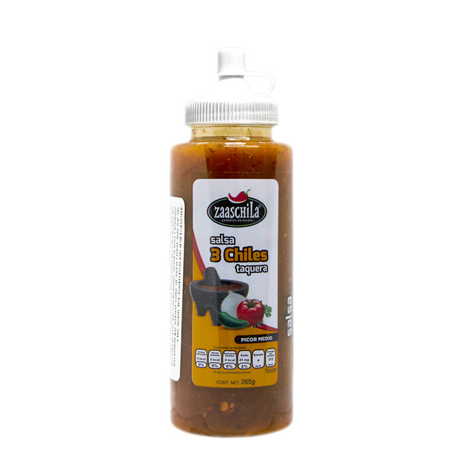 Salsa 3 chiles Zaaschila
