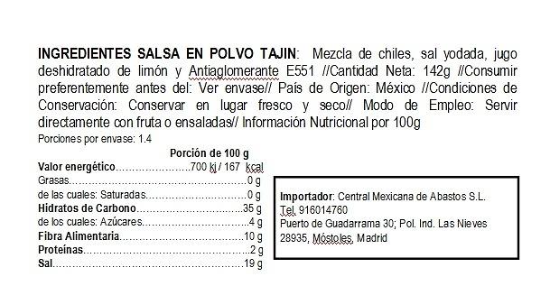 Salsa Tajín