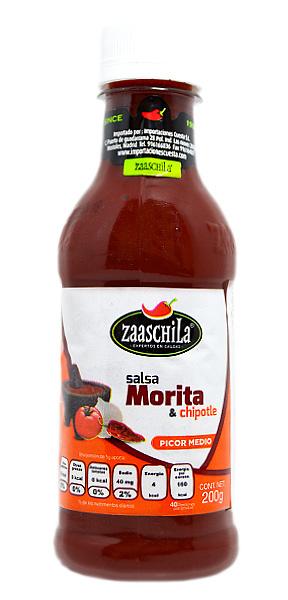 Salsa cremosa Chipotle y Morita Zaaschila
