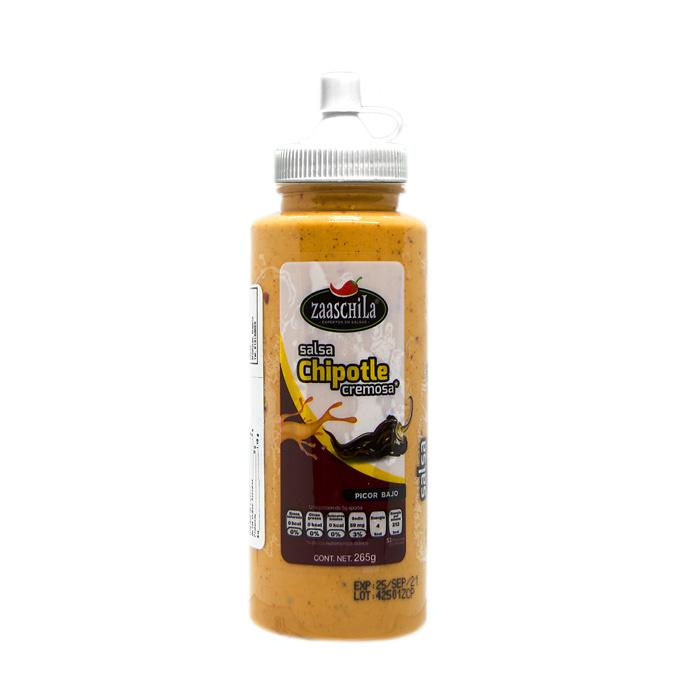 Salsa de Chile Chipotle Cremosa Zaaschila