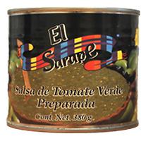 Salsa de Tomate Verde Preparada.