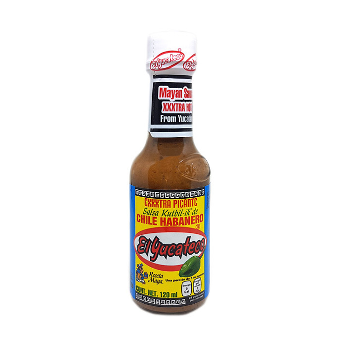 Salsa de chile habanero Kutbil-ik