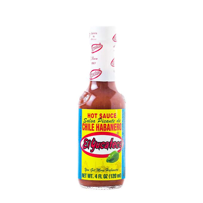Salsa habanera roja 120ml Yucateco