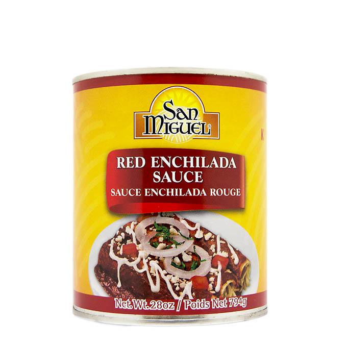 Salsa para enchilada Roja San Miguel