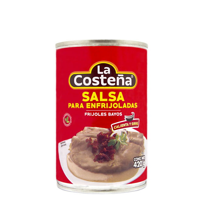 Salsa para enfrijoladas Frijol Bayo