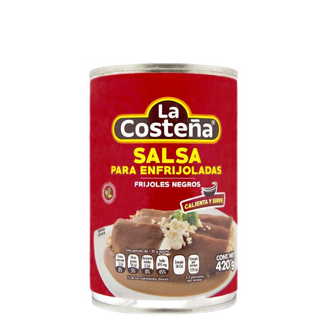 Salsa para enfrijoladas Frijol Negro