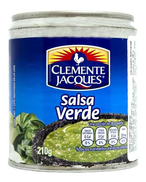 Salsa verde 220ml Clemente Jacques