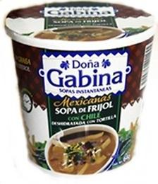 Sopa Frijol con chile Doña Gabina