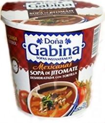 Sopa de Jitomate con Tortilla Doña Gabina