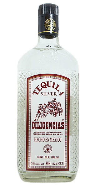 Tequila blanco Silver